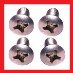 Tank Badge Screws (x4)- Kawasaki KC100